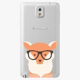 Plastový kryt iSaprio - Orange Fox - Samsung Galaxy Note 3