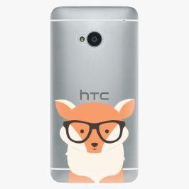Plastový kryt iSaprio - Orange Fox - HTC One M7