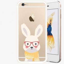 Plastový kryt iSaprio - Smart Rabbit - iPhone 6 Plus/6S Plus - Gold