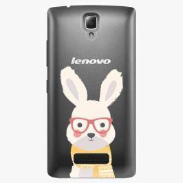 Plastový kryt iSaprio - Smart Rabbit - Lenovo A2010 Pouzdra, obaly a kryty na mobilní telefon Lenovo A2010