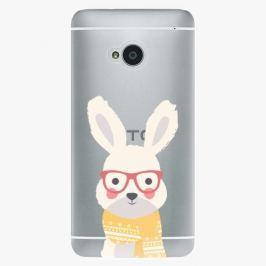 Plastový kryt iSaprio - Smart Rabbit - HTC One M7