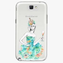 Plastový kryt iSaprio - Queen of Parties - Samsung Galaxy Note 2