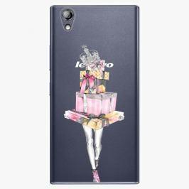 Plastový kryt iSaprio - Queen of Shopping - Lenovo P70