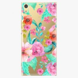 Plastový kryt iSaprio - Flower Pattern 01 - Sony Xperia XA1 Ultra