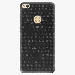 Plastový kryt iSaprio - Ampersand 01 - Huawei Honor 8 Lite