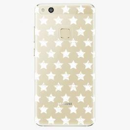 Plastový kryt iSaprio - Stars Pattern - white - Huawei P10 Lite
