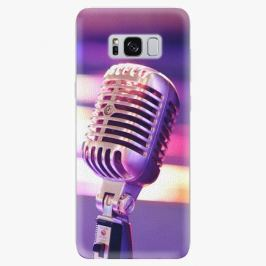 Plastový kryt iSaprio - Vintage Microphone - Samsung Galaxy S8
