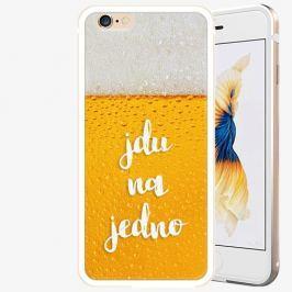 Plastový kryt iSaprio - Jdu na jedno - iPhone 6 Plus/6S Plus - Gold