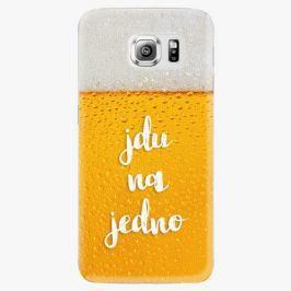 Plastový kryt iSaprio - Jdu na jedno - Samsung Galaxy S6 Edge