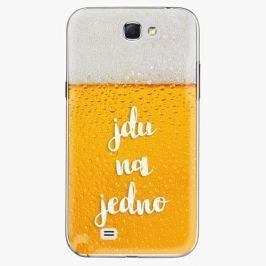 Plastový kryt iSaprio - Jdu na jedno - Samsung Galaxy Note 2