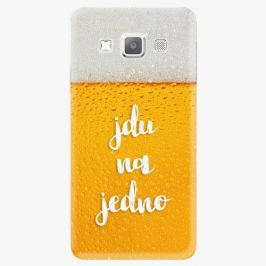 Plastový kryt iSaprio - Jdu na jedno - Samsung Galaxy A7