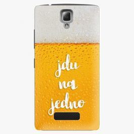 Plastový kryt iSaprio - Jdu na jedno - Lenovo A2010