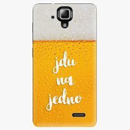 Plastový kryt iSaprio - Jdu na jedno - Lenovo A536