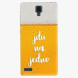 Plastový kryt iSaprio - Jdu na jedno - Xiaomi Redmi Note