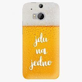 Plastový kryt iSaprio - Jdu na jedno - HTC One M8
