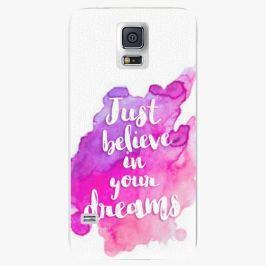 Plastový kryt iSaprio - Believe - Samsung Galaxy S5