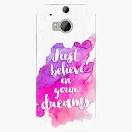 Plastový kryt iSaprio - Believe - HTC One M8