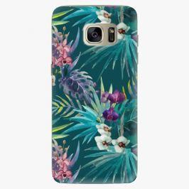 Plastový kryt iSaprio - Tropical Blue 01 - Samsung Galaxy S7 Edge