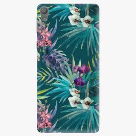 Plastový kryt iSaprio - Tropical Blue 01 - Sony Xperia E5