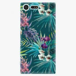 Plastový kryt iSaprio - Tropical Blue 01 - Sony Xperia X Compact