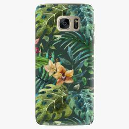 Plastový kryt iSaprio - Tropical Green 02 - Samsung Galaxy S7 Edge