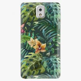 Plastový kryt iSaprio - Tropical Green 02 - Samsung Galaxy Note 3