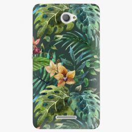 Plastový kryt iSaprio - Tropical Green 02 - Sony Xperia E4