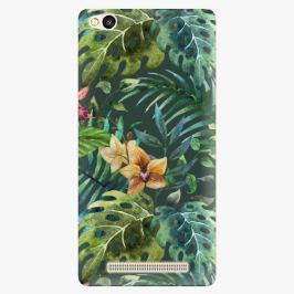 Plastový kryt iSaprio - Tropical Green 02 - Xiaomi Redmi 3
