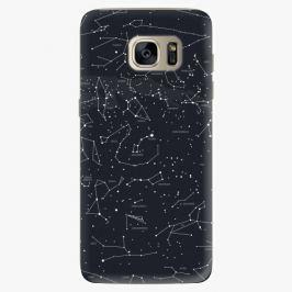 Plastový kryt iSaprio - Night Sky 01 - Samsung Galaxy S7 Edge
