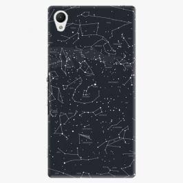 Plastový kryt iSaprio - Night Sky 01 - Sony Xperia Z1 Compact
