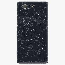 Plastový kryt iSaprio - Night Sky 01 - Sony Xperia Z3 Compact