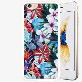 Plastový kryt iSaprio - Tropical Flowers 05 - iPhone 6 Plus/6S Plus - Gold
