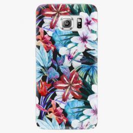 Plastový kryt iSaprio - Tropical Flowers 05 - Samsung Galaxy S6 Edge Plus
