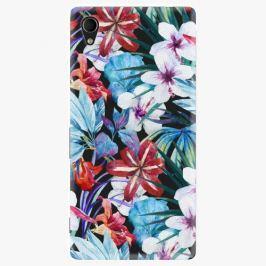 Plastový kryt iSaprio - Tropical Flowers 05 - Sony Xperia M4