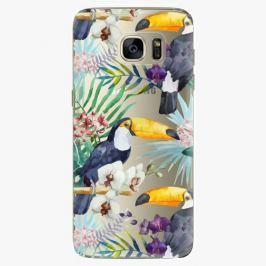 Plastový kryt iSaprio - Tucan Pattern 01 - Samsung Galaxy S7