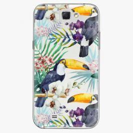Plastový kryt iSaprio - Tucan Pattern 01 - Samsung Galaxy Note 2