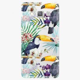 Plastový kryt iSaprio - Tucan Pattern 01 - Samsung Galaxy A3
