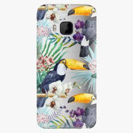 Plastový kryt iSaprio - Tucan Pattern 01 - HTC One M9