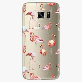 Plastový kryt iSaprio - Flami Pattern 01 - Samsung Galaxy S7 Edge