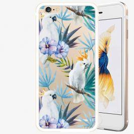 Plastový kryt iSaprio - Parrot Pattern 01 - iPhone 6/6S - Gold