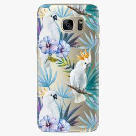 Plastový kryt iSaprio - Parrot Pattern 01 - Samsung Galaxy S7 Edge