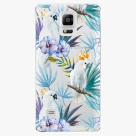 Plastový kryt iSaprio - Parrot Pattern 01 - Samsung Galaxy Note 4