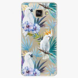Plastový kryt iSaprio - Parrot Pattern 01 - Samsung Galaxy A3 2016