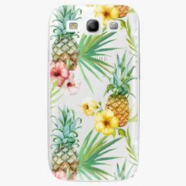 Plastový kryt iSaprio - Pineapple Pattern 02 - Samsung Galaxy S3