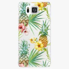 Plastový kryt iSaprio - Pineapple Pattern 02 - Samsung Galaxy Alpha