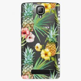 Plastový kryt iSaprio - Pineapple Pattern 02 - Lenovo A1000