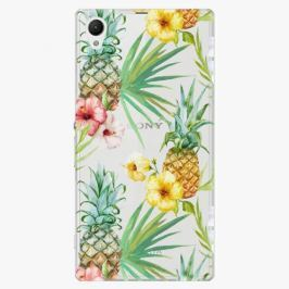 Plastový kryt iSaprio - Pineapple Pattern 02 - Sony Xperia Z1 Compact