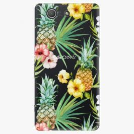 Plastový kryt iSaprio - Pineapple Pattern 02 - Sony Xperia Z3 Compact
