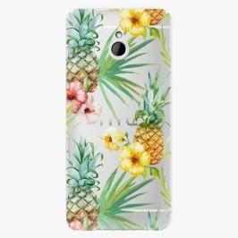 Plastový kryt iSaprio - Pineapple Pattern 02 - HTC One Mini