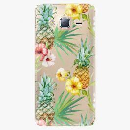 Plastový kryt iSaprio - Pineapple Pattern 02 - Samsung Galaxy J3